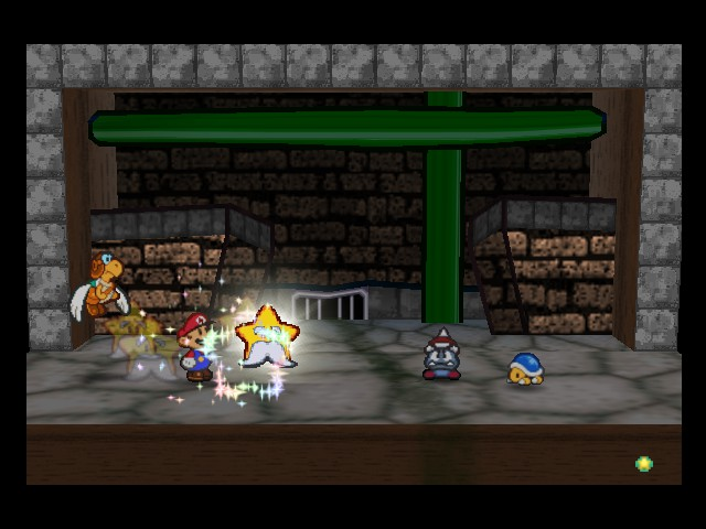 Paper Mario - Battle  - Not sure what